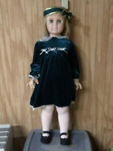 """Vintage 1950s Toddler Child Kid Girl Realistic Mannequin CUTE Used 35"""""""