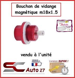 bouchon/boulon de vidange magnétique m18x1.5 pour JEEP,VAUXHALL,CHEVROLET,TOYOTA