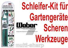 Multi-Sharp Schleifer Kit für Gartenwerkzeuge Scheren Spaten Äxte Astscheren usw