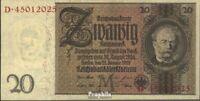 Deutsches Reich Rosenbg: 174b, Udr.-Bst. M, Serien: B-G, Zwischenform gebraucht