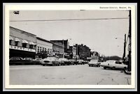 BEAVER PENNSYLVANIA BUSINESS DISTRICT STREET SCENE POSTCARD OLD CARS