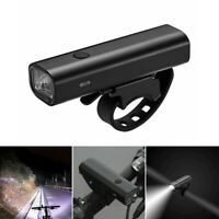 RockBros-Bike Bicycle Light 400Lumens Head Front Light USB Rechargeable LED