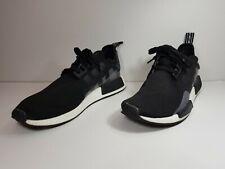 Adidas Nmd R1 Boost Black Men's Shoes GrayEE5082 Sz 12