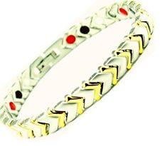 Titanium Magnetic Energy Germanium BALANCE Power Bracelet Health 4 in 1 armband