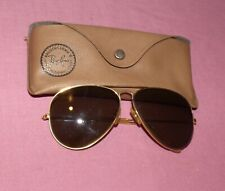 Vintage B&L Ray-Ban USA 62[]14 Aviator Sunglasses with Original Case
