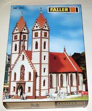 Faller 130905, alte Nummer 905, HO Bausatz große Stadtkirche OVP, Anleitung