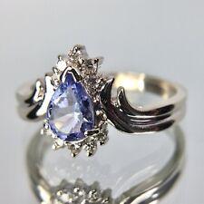 Le Vian 14k White Gold Tanzanite & Diamond Ring