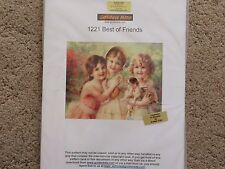 60% Off Golden Kite counted x-stitch chart - #1221 Best of Friends