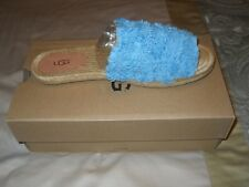 UGG Edith Slide Sandals Aqua Women's 9 NIB