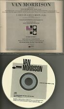 VAN MORRISON Once in a Blue Moon 2003 RARE USA PROMO Radio DJ CD Single MINT