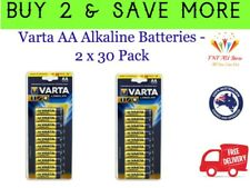 VARTA Longlife AA Batteries High Performance Alkaline 60 Pack