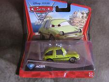 DISNEY PIXAR CARS 2  ACER LONG CARD
