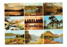 Cumbria - Lakeland - Multiview Postcard Franked 1985