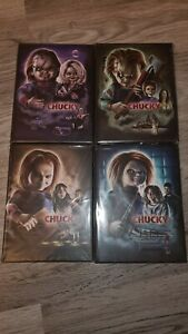 Chucky 4 - 7 Mediabook Inkl. Schuber