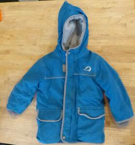 Finkid Talvi Kinder Winterjacke Gr. 110/120 in blau