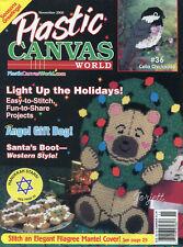Plastic Canvas World Magazine ~ November 2000, 15 plastic canvas projects