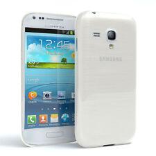 Schutz Hülle für Samsung Galaxy S3 Mini Brushed Cover Handy Case Weiß