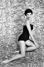 Cyd Charisse full length barefoot in swimsuit 11x17 Mini Poster