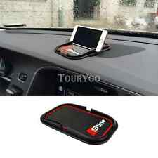 3D Silicone Mat Phone No Slip Pad GPS Sat Nav Holder For Sline Audi A4 A6 Q5 TT