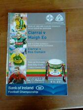 GAA 2006 All Ireland SFC final Kerry v Mayo official match programme