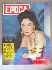 EPOCA n°165 1953 Gianna Maria Canale - La morte ha vinto la Carrera [G772]