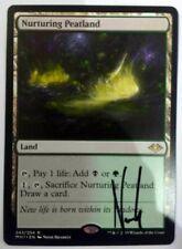 MTG: Modern Horizons 'Nurturing Peatland' Signed by Artist! - Rare - NM (A)
