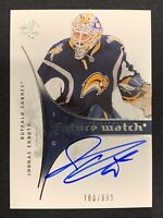 2009-10 SP AUTHENTIC JHONAS ENROTH ROOKIE FUTURE WATCH AUTO #ed 780/999