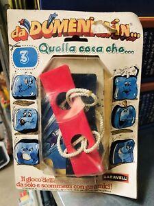 DA DOMENICA IN QUELLA COSA CHE...BARAVELLI,IL GIOCO DELL ANNO ANNI '80 VINTAGE!!