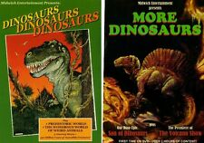 """More Dinosaurs"" & ""Dinosaurs, Dinosaurs, Dinosaurs""  2 DVDs = 6 shows"
