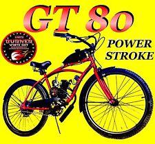 DIY 2-STROKE 66CC/80CC MOTORIZED BIKE KIT MOTOR BIKE KIT WITH CRUISER BICYCLE