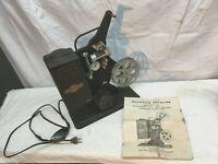 Vtg 1940s 16mm  Moviegraph Film Projector Model E-743 KEYSTONEParts Repair
