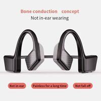 Wireless Bluetooth 5.0 Bone Conduction Headset Sport Stereo Headphones Handsfree