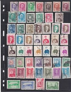Middle East  nice  lot of  old stamps ( lot 3223 )