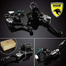 "MZS 7/8"" 22mm Black Pivot Lever Brake Hydraulic Master Cylinder Clutch Perch Kit"