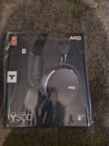 """AKG Y500 On-Ear Wireless Headphones """"New"""""""