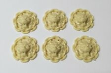 Decorative Lion Heads 6 Pack, Dolls House Miniature, DIY, Fitting, Ceiling