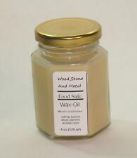 Food Safe Cutting Board Treatment. Oil and Wax 4 oz (120 ml)