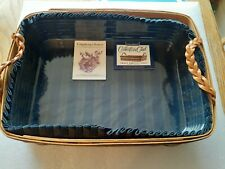 1996 Longaberger Collector's Club Small Serving Tray Combo with Box