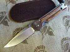 Chris Reeve Knives Small Sebenza 21 S35VN - Bocote Inlay - Authorized Dealer