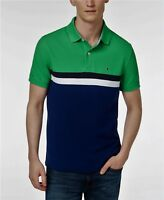 NEW TOMMY HILFIGER Mens POLO T SHIRT all sizes NWT blue green yellow red white