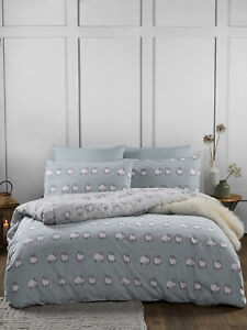 Fusion Country Sheep Brushed Cotton Reversible Duvet Covers