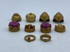 Playmobil Crown Crowns Headbands  Set of 10 Gold Hats