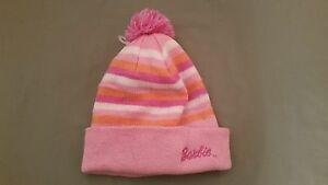 girls barbie beanie cap