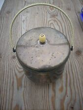 Vintage.Silver and Glass Food Warmer with Lid??