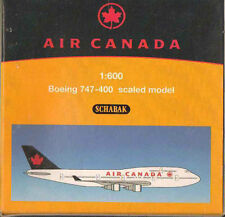 SCHABAK AIR CANADA BOEING 747-400 COLLECTABLE 1/600 SCALE MODEL BNIB