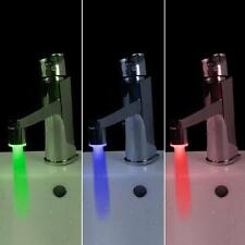Billig Neu Automatisch Temperatur Sensor LED-Licht Langlebig Wasserhahn Tippen