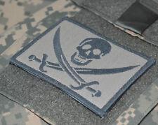 USMC FORCE RECON SNIPER OPERATOR SHOULDER vel©®⛄ PATCH: CALICO JACK SKULL ACU
