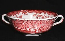 Royal Worcester PALISSY Avon Scenes ROT ~ Suppentasse