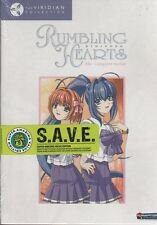 Rumbling Hearts: The Complete Series - S.A.V.E. (DVD, 2008, 3-Disc Set)