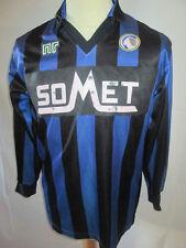Atalanta Match Worn Home Football Shirt with COA /6258